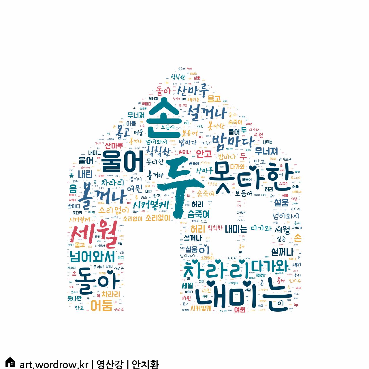 워드 클라우드: 영산강 [안치환]-11